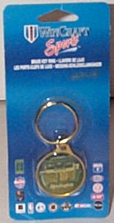 Remington Racing Brass Key Ring