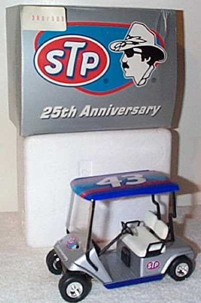 Richard Petty STP Golf Cart Bank GMP