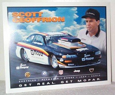Scott Geoffrion Team Mopar '97 Dodge Handout