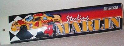 Sterling Marlin Kodak Bumper Sticker