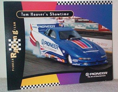 Tom Hoover Pioneer Dodge Funny Car Handout