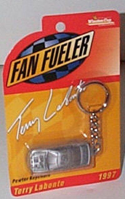 Terry Labonte Pewter Key Chain w/Car