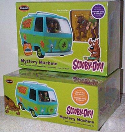 Scooby-Doo Mystery Machine Model Kit