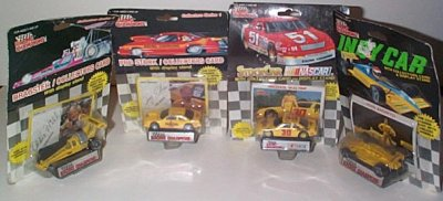 Pennzoil Four Race  Car Set