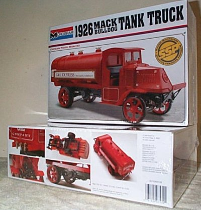 '26 Mack Bulldog Tank Truck Model