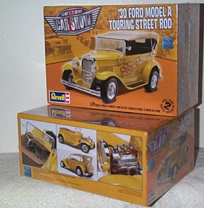'30 Ford Touring Car Street Rod Model Kit