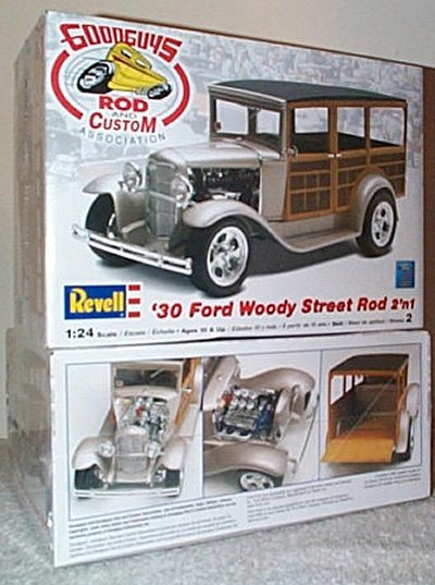 '30 Ford Woody Street Rod 2'n 1