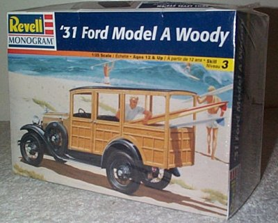 '31 Ford Model A Woody Station Wagon