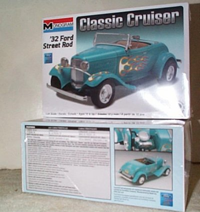 '32 Ford Roadster Street Rod Model Kit