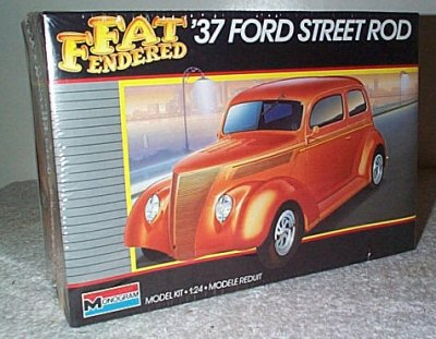 '37 Ford 2 Dr. Sed. St. Rod Fat Fender Series