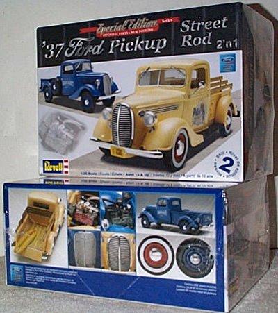 '37 Ford Pickup 2'n 1 Street Rod Kit