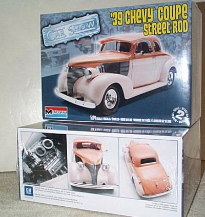 '39 Chevy Coupe Street Rod Model Kit