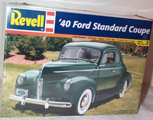 '40 Ford Standard Coupe Model Kit