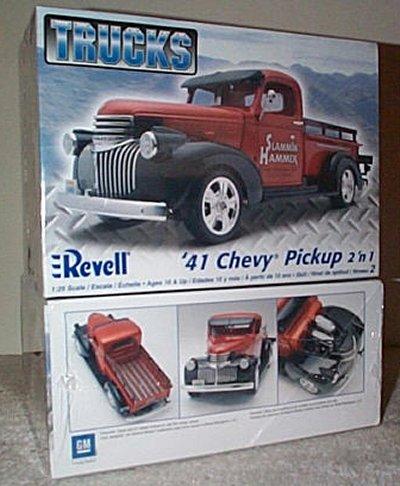 '41 Chevrolet Pickup Truck 2'n 1 Model Kit