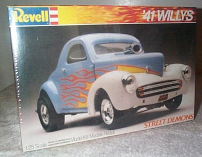 '41 Willys Coupe Street Demons Series