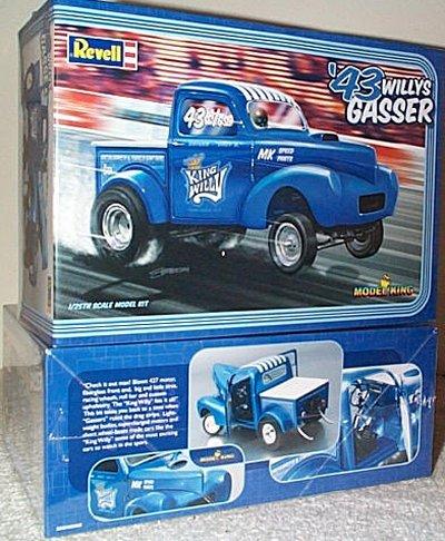 '43 Willys Pickup Drag Truck Model King