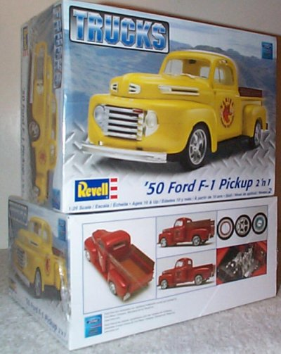 '50 Ford F-100 Pickup Truck Model Kit