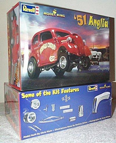 '51 Anglia Drag Car Model King Model Kit