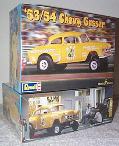 '53/'54 Chevy Gasser Model Kit