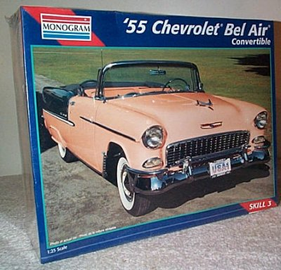 '55 Chevy Convertible Model Kit