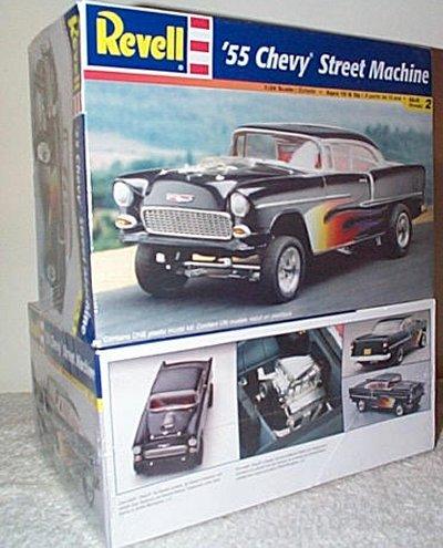 '55 Chevrolet Street Machine Model Kit
