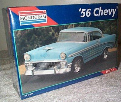 '56 Chevy Street Machine Model Kit