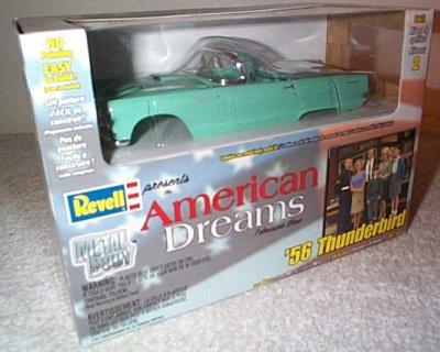 '56 Ford Thunderbird Metal Model Kit