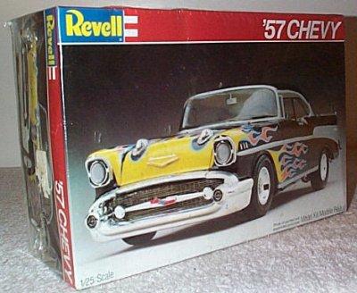 '57 Chevy 2 Dr. Ht. Custom Model Kit