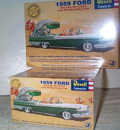 '59 Ford Skyliner Model Kit
