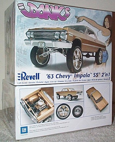 '63 Chevy Impala SS 2'n 1 Donks Model