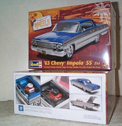 '63 Chevy Impala SS 2'n 1 Model Kit