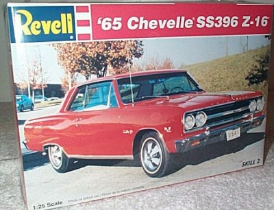 '65 Chevy Chevelle SS396 Z-16 Model Kit