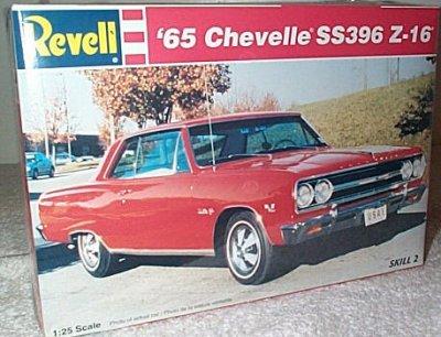 '65 Chevy Chevelle SS396 Z-16 Model Kit