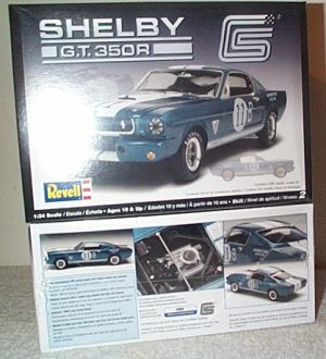 '65 Ford Mustang Shelby GT 350R Model Kit