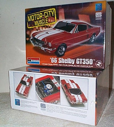 '66 Ford Mustang Shelby GT-350