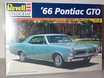 '66 Pontiac GTO 2 Door Hardtop