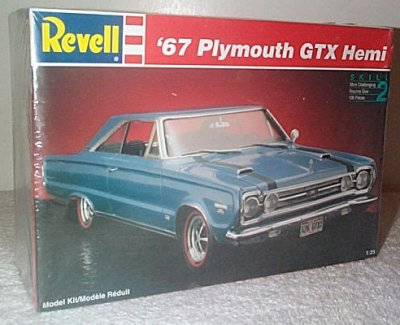 '67 Plymouth GTX Hemi Model Kit