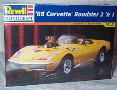 '68 Chevrolet Corvette  2'n 1 Model Kit