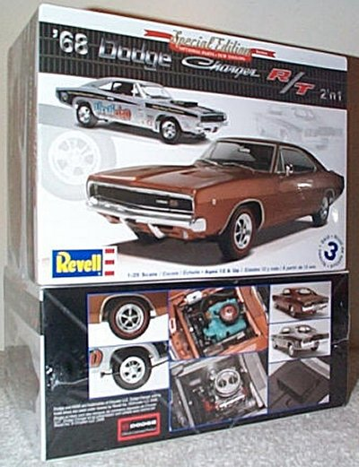 '68 Dodge Charger R/T 2'n 1 Model Kit