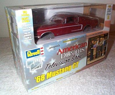 '68 Ford Mustang GT Metal Model Kit