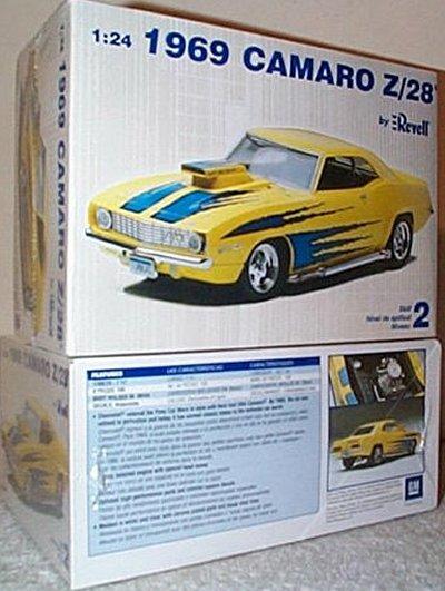 '69 Chevy Camaro Z/28 Model Kit