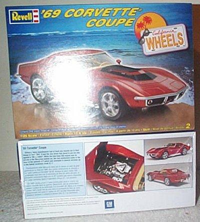 '69 Chevrolet Corvette Coupe Model Kit