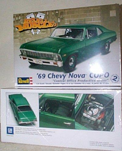 '69 Chevy Nova C.O.P.O. Model Kit
