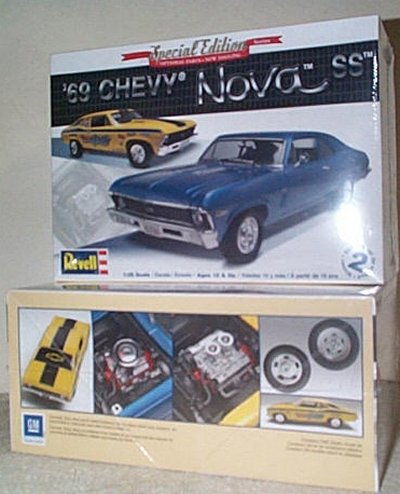 '69 Chevy Nova SS Model Kit
