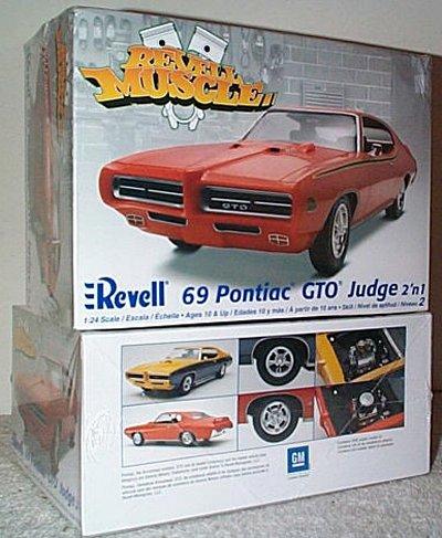 '69 Pontiac GTO Judge 2'n 1 Muscle Series