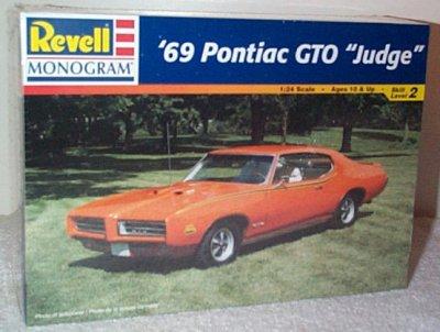 '69 Pontiac GTO Judge Model Kit