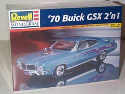'70 Buick GSX 2'n 1 Model Kit