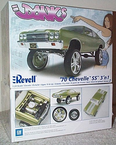 '70 Chevy Chevelle SS Donks Model Kit