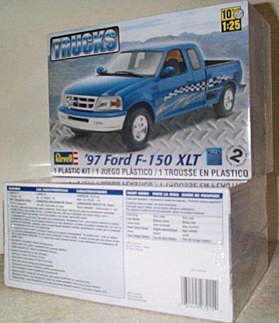 '97 Ford F-150 XLT Pickup Truck Model