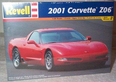 '01 Chevrolet Corvette Z06 Model Kit